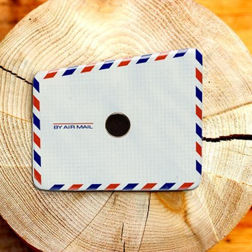 Wooden Pocket Square   Air Mail Envelope