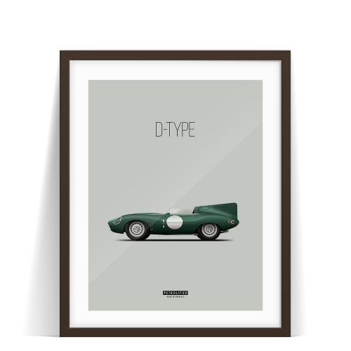 car prints, jaguar, jaguar dtype, luxury car art