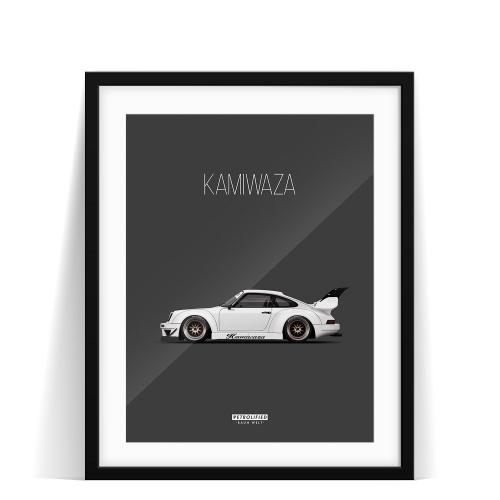car prints, Kamiwaza, luxury car art