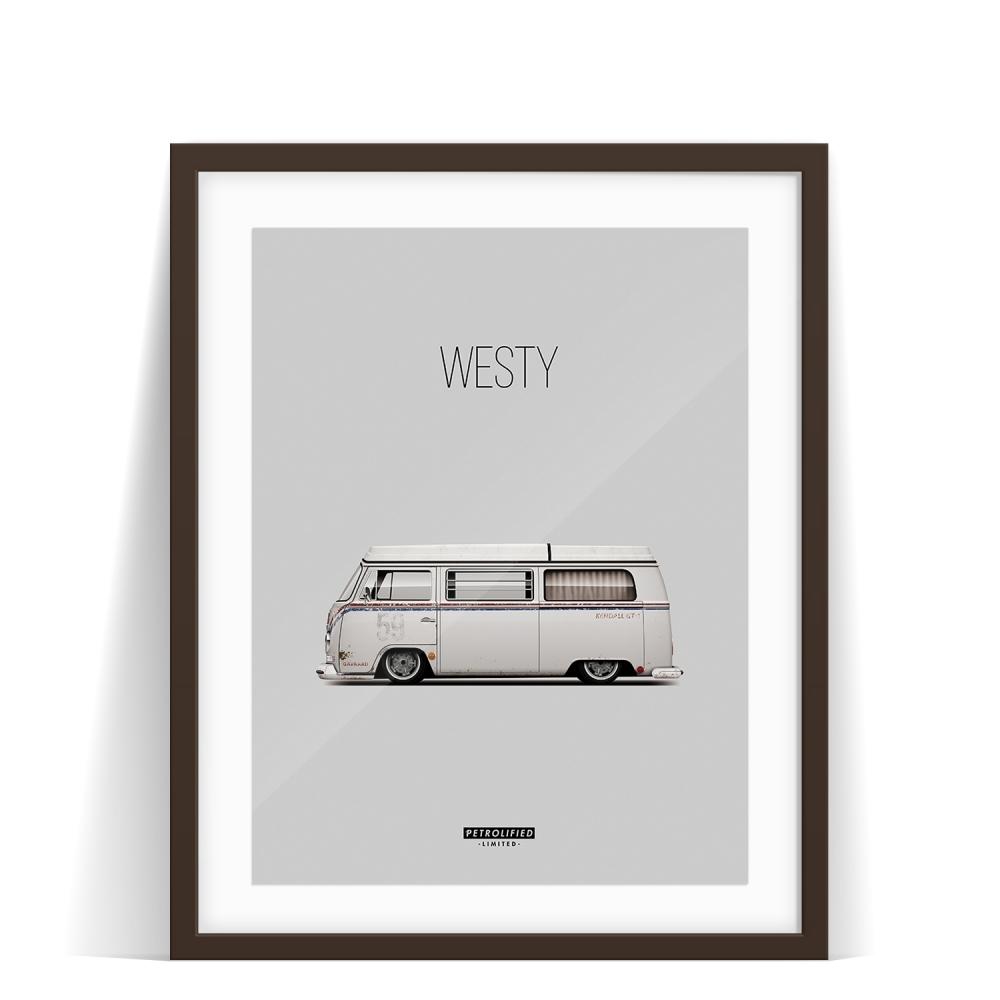 car prints, project westy, luxury car art