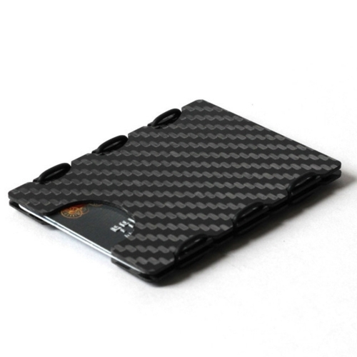 Ultra Carbon Fiber Card Case - Black
