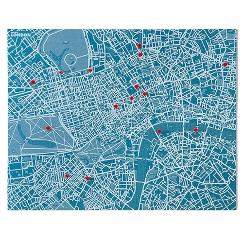 Pin City London - Blue