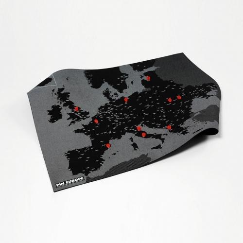 Pin Europe - Black