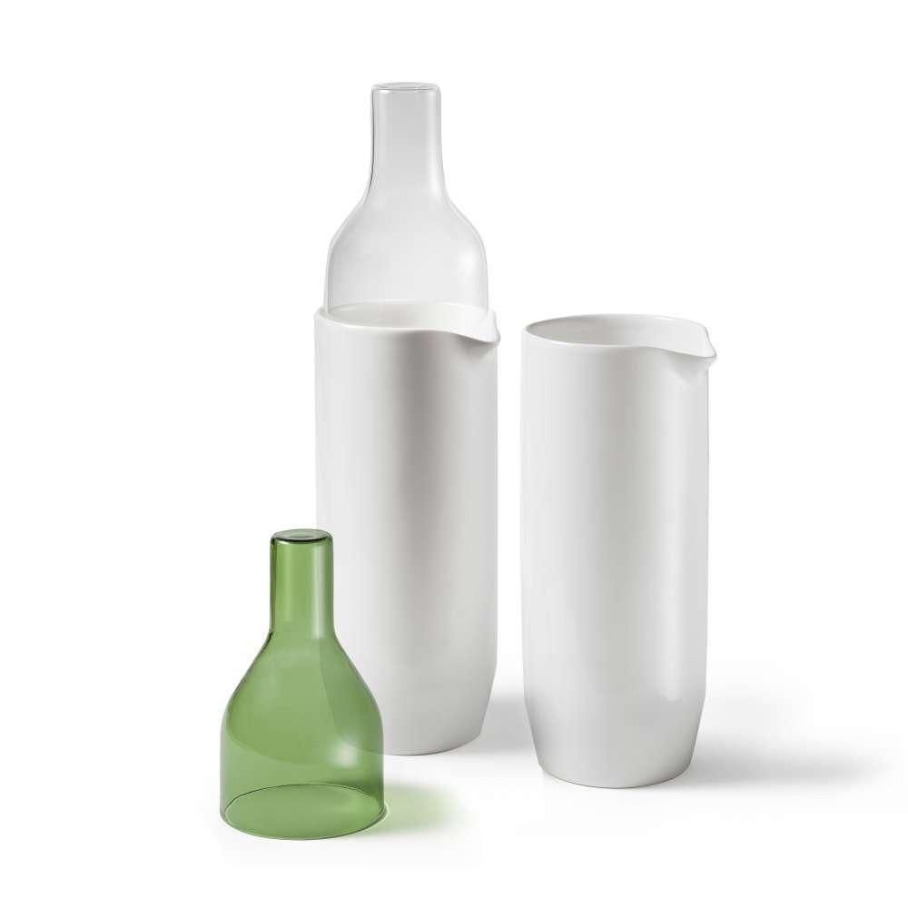 Crudo Water and Wine Jug Ceramic   Atipico