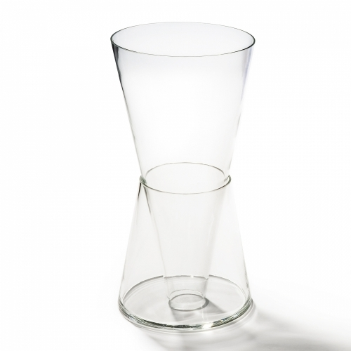 Double Vase, Clear