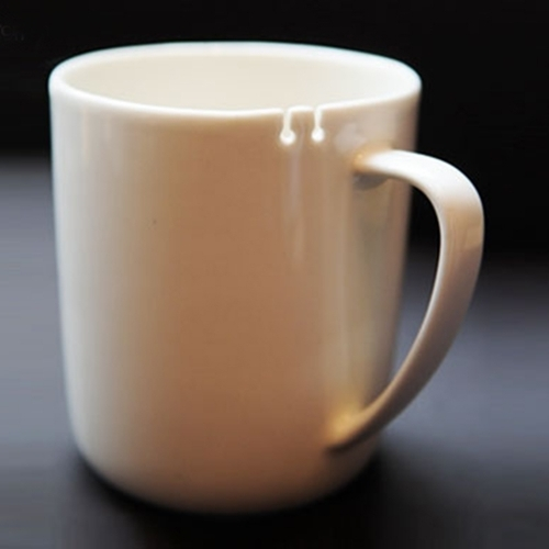 Tie Tea Mug, Right-handed