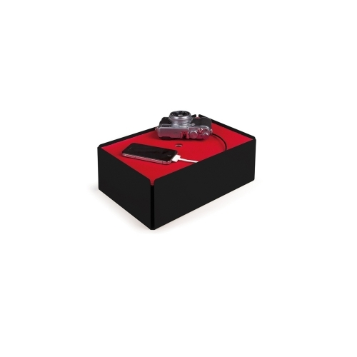 Charge-Box, Black/Red