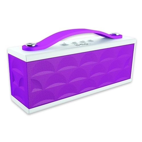 Sound Machine Speaker, White/Purple