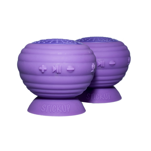 StickUp Stereo Speakers, Set of 2, Purple