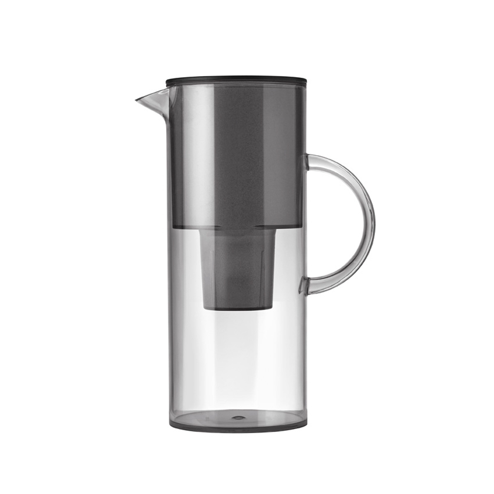 Water Filter Jug, Smoke, Stelton