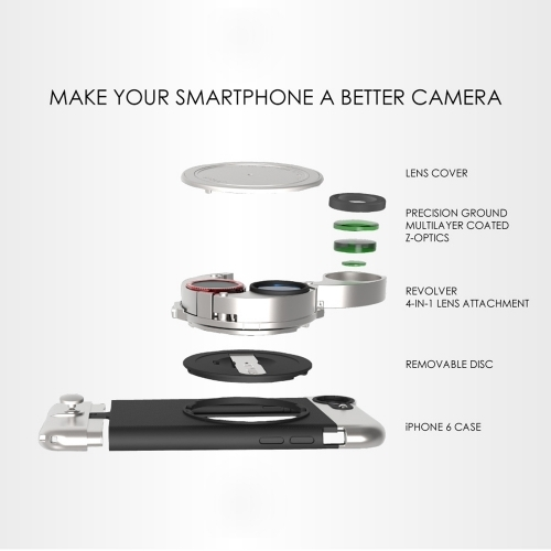 Lite Case & Lite Camera Kit for iPhone 6/6S Plus   Ztylus