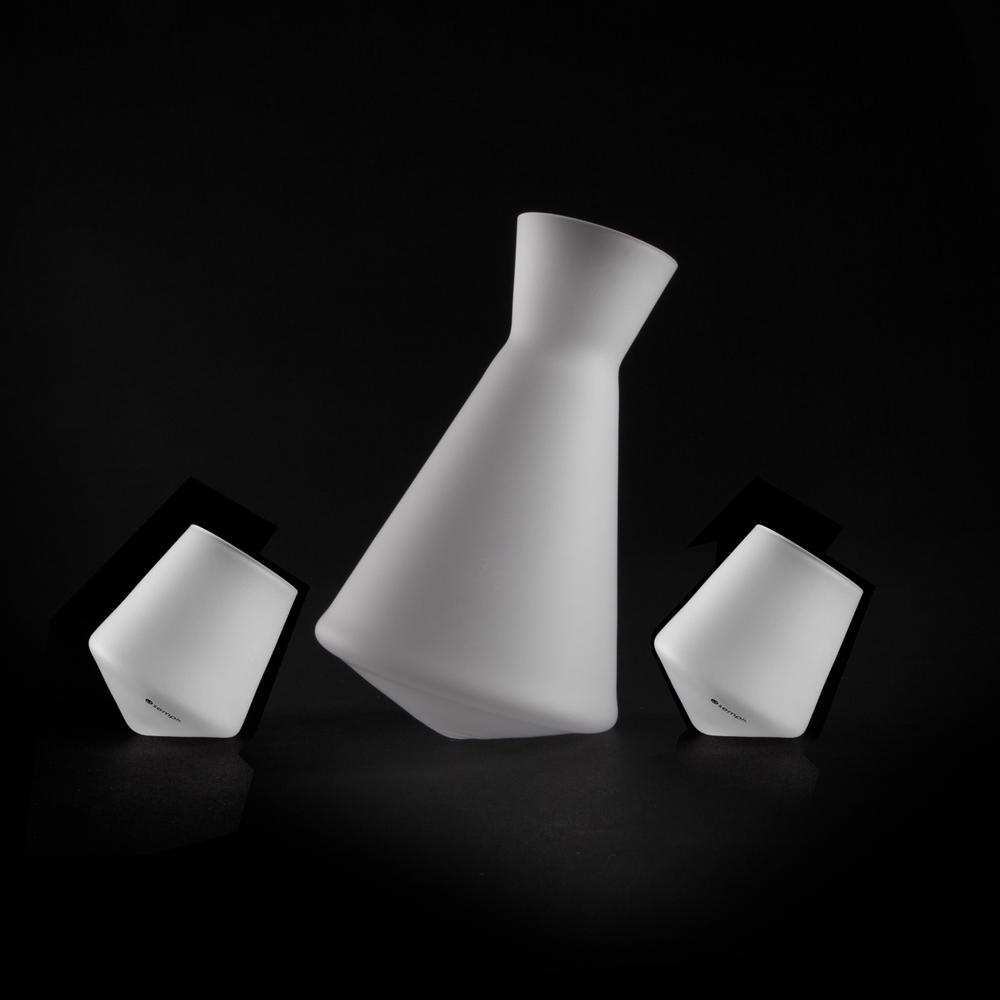 Sake Decanter & Glass Set   Vaso-Sake Set ICE   Sempli
