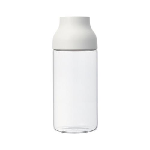 Capsule Water Carafe 0.7L, White