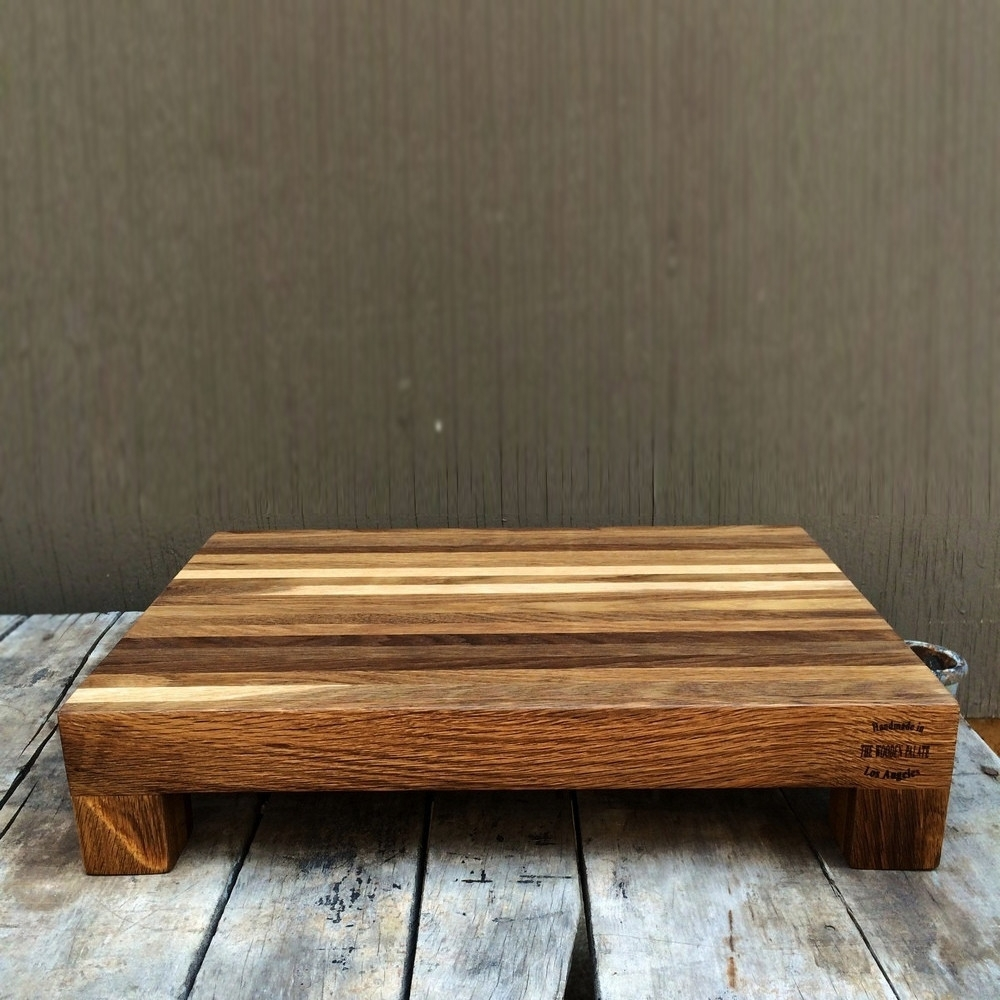 Rectangle Edge Grain Board, The Wooden Palate