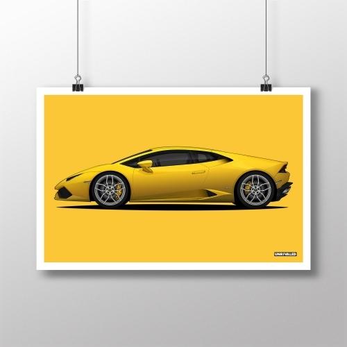 Lamborghini Huracan Print