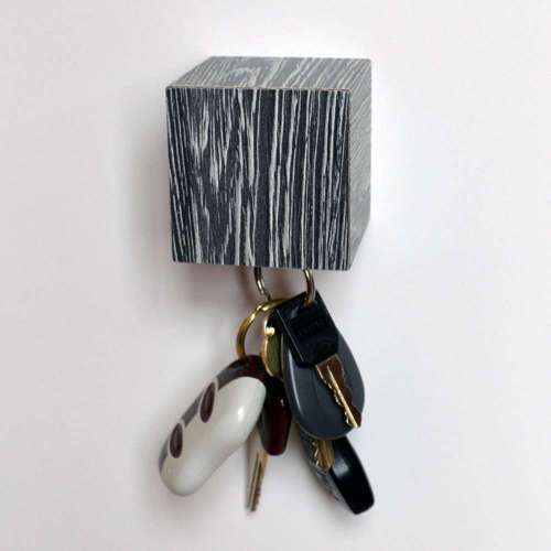 Kube Key Holder, Wenge