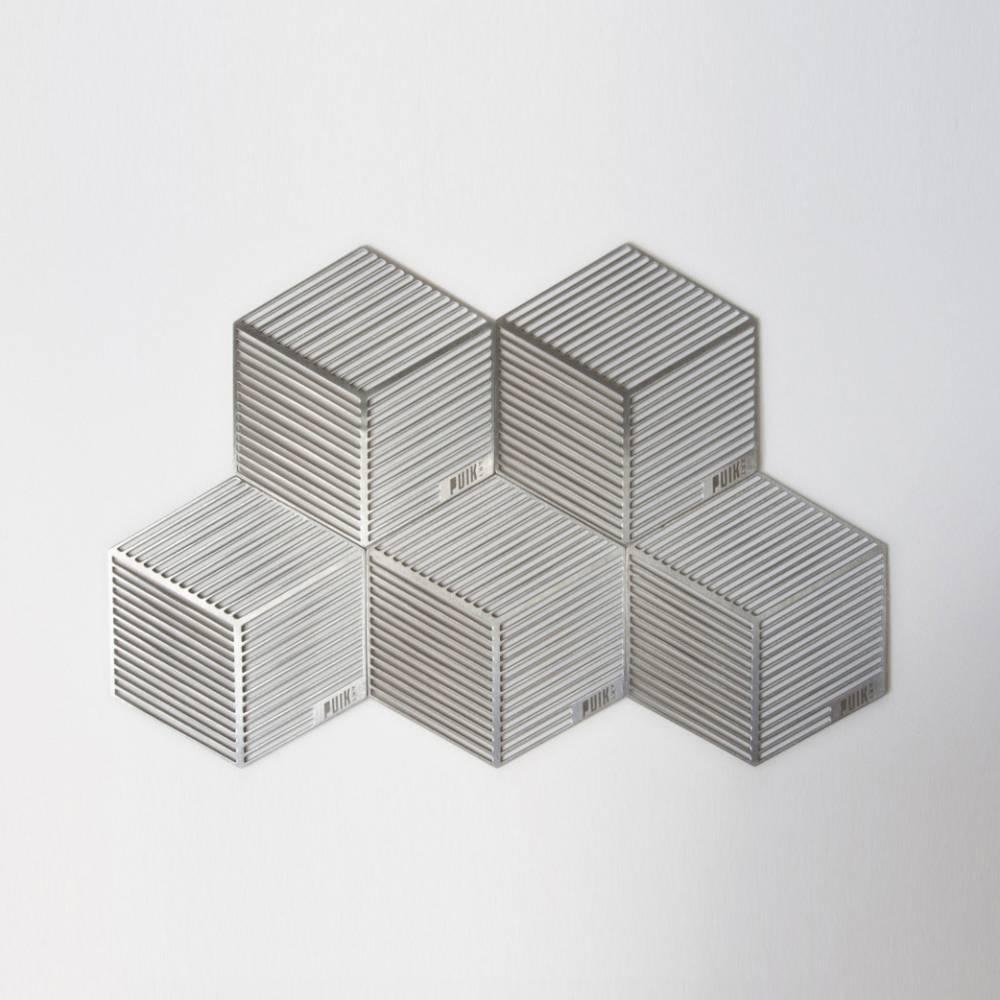 Seco Hexagon Shaped Coasters - Puik Art