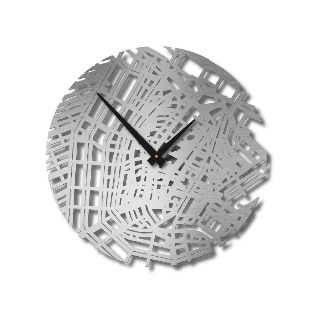 Amsterdam Clock | Urban Story | Design Timepieces Wall Clock