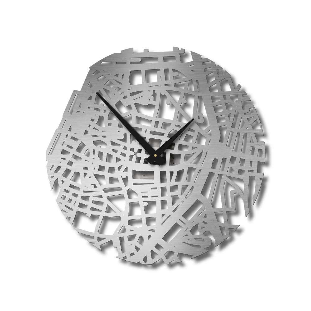 Stainless Steel  Wall Clock | Antwerp Clock | Urban Story