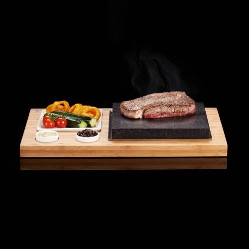Steak Plate & Sauces Set