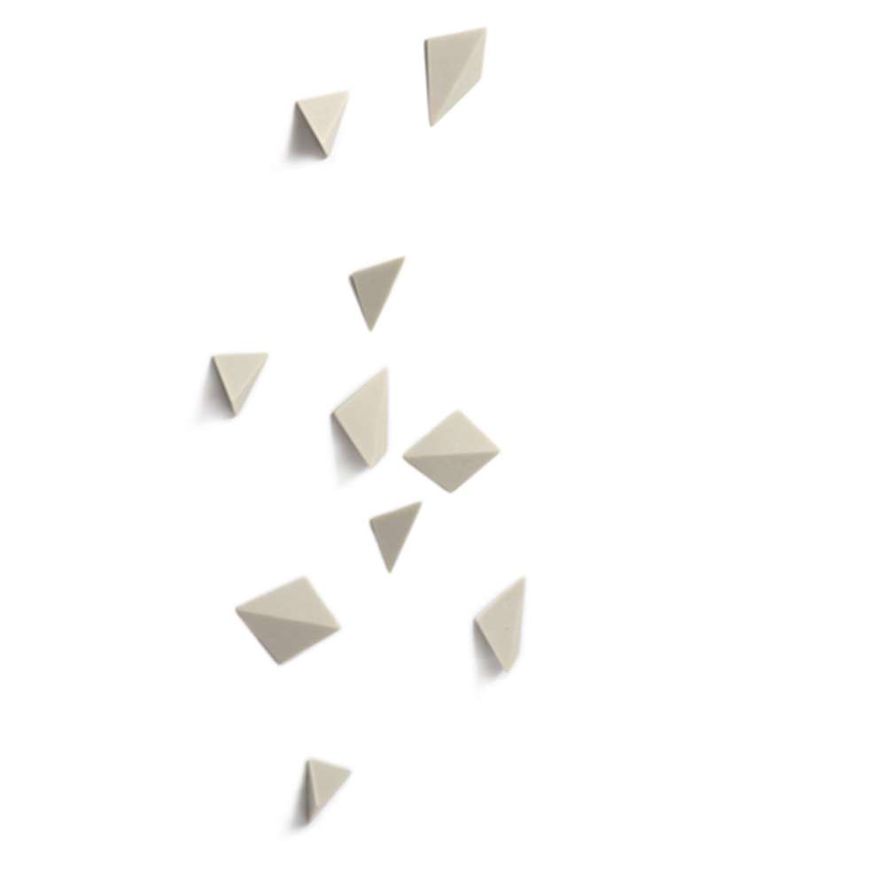 'Quad' Wall Play, Set of 10 - Contemporary Wall Decoration
