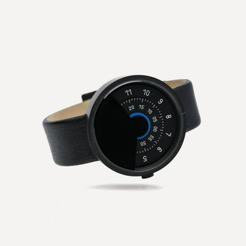 Series 000 Watch, Black & Blue