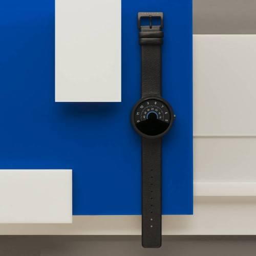 Series 000 Watch, Black & Blue - A Fresh Take on Traditional Elegance