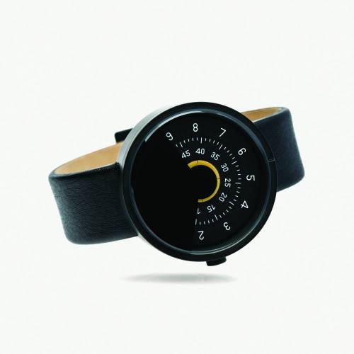 Series 000 Watch, Black & Yellow