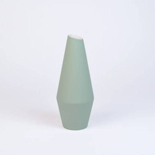 Crooked Vase, Soft Green