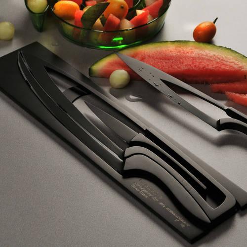 Meeting Knife Set of 4 | Deglon| Teflon Coated Steel