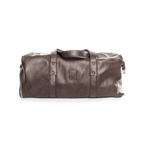 Derek Diagonal Duffle Bag | Charcoal