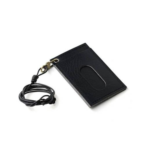 301 Cardholder Necklace - Leather Cardholder Necklace