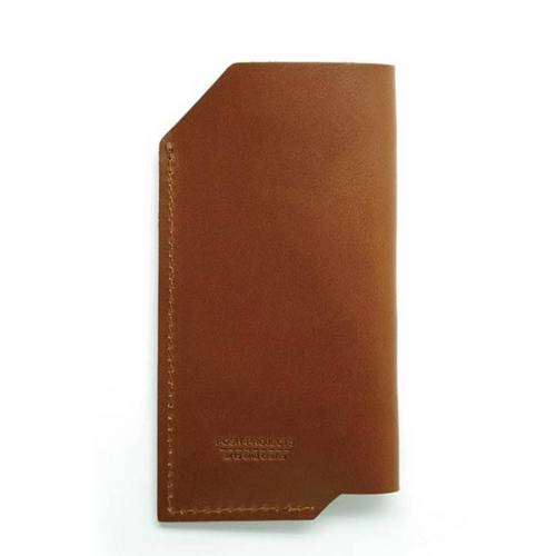501 iPhone 6/6 PLUS Sleeve, Brown - Leather iPhone Sleeve