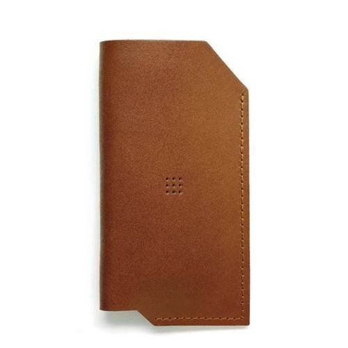 502 iPhone 6/6 PLUS Sleeve, Brown - Leather iPhone Sleeve