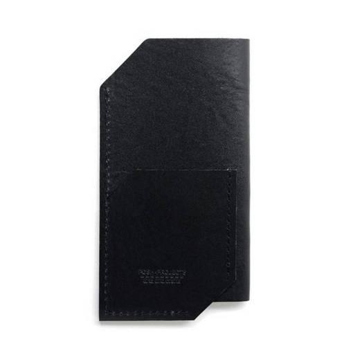 502 iPhone 6/6 PLUS Sleeve, Black - Leather iPhone Sleeve