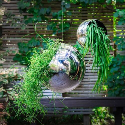 Hanging Orb Planter