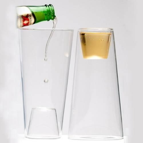 Beer/Shot Glass, 2-Pack | Highwave