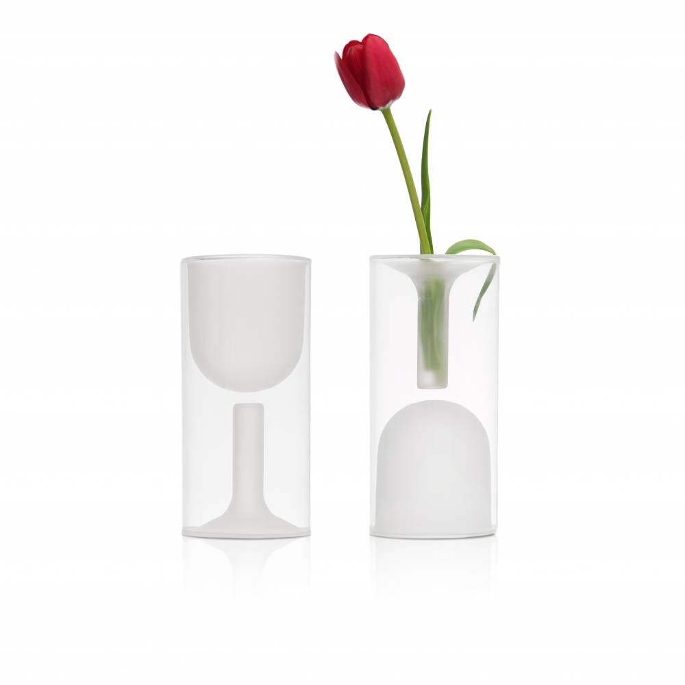 Tulip Wine | Set of Two | Wine Cup and Flower vase| Highwave