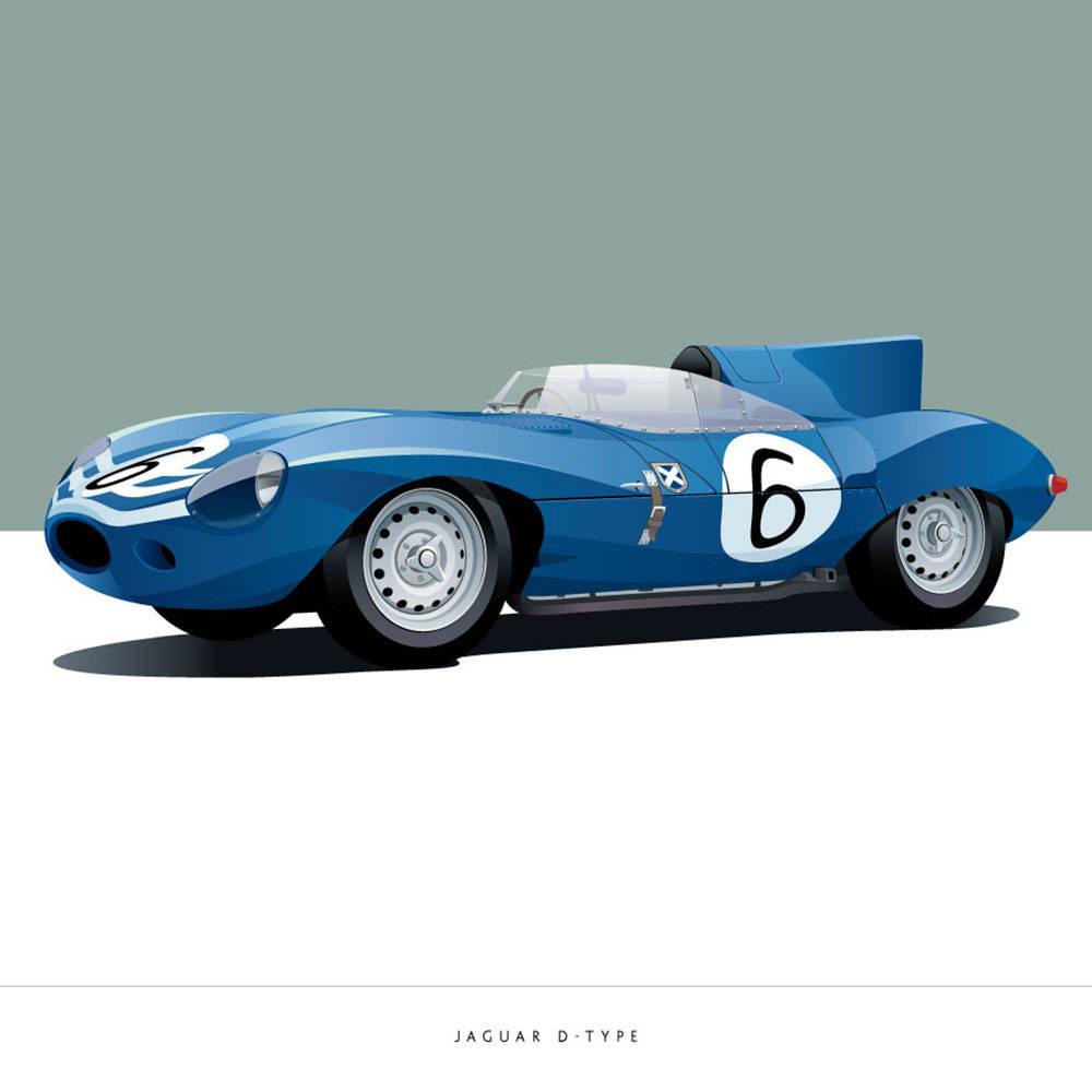 Jaguar D-Type - Arthur Schening