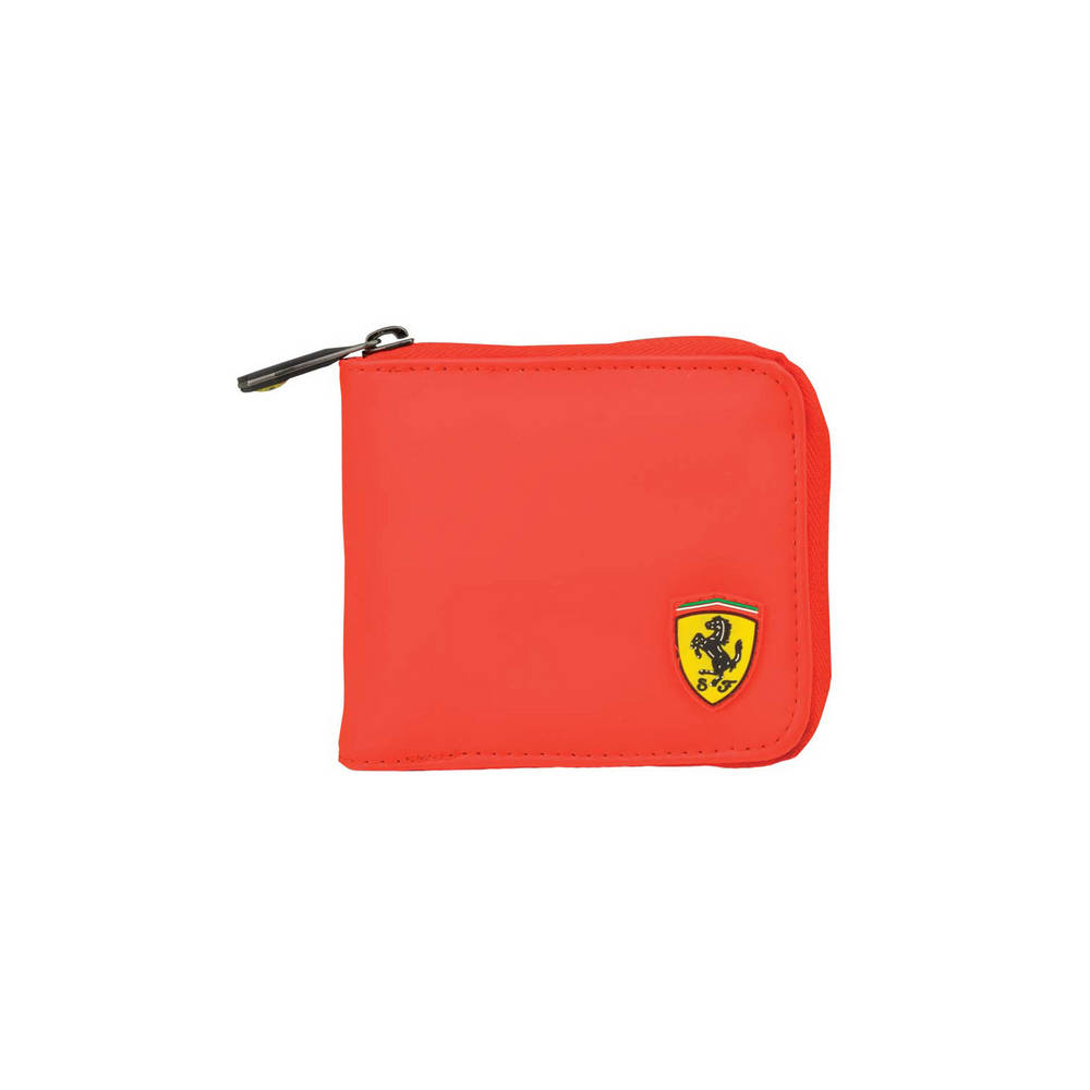 Red Wallet - Ferrari