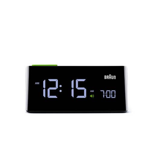 VA LCD Alarm Clock - Slim, Functional and Ergonomic