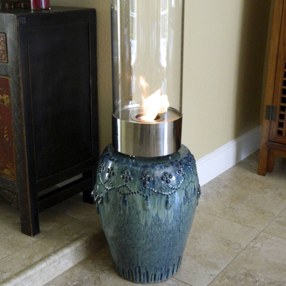 Cristallo Fireplace - Portable Tabletop Fireplace