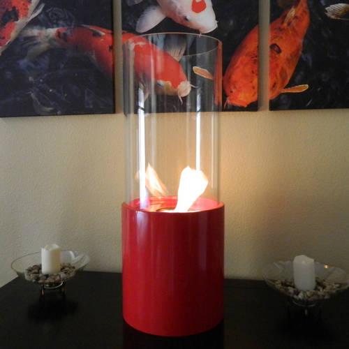 Doppio Rouge Fireplace