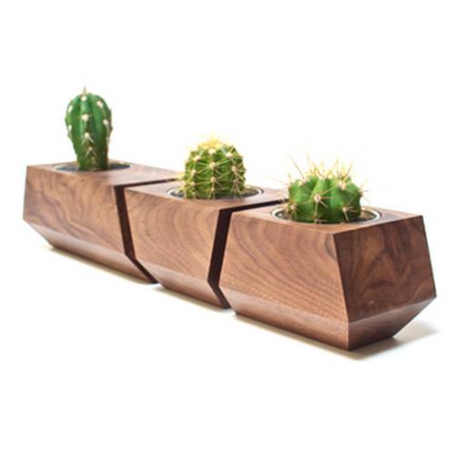 Boxcar Set, Walnut Natural