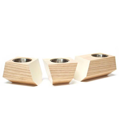 Boxcar Set Ash & White - Revolution Design House