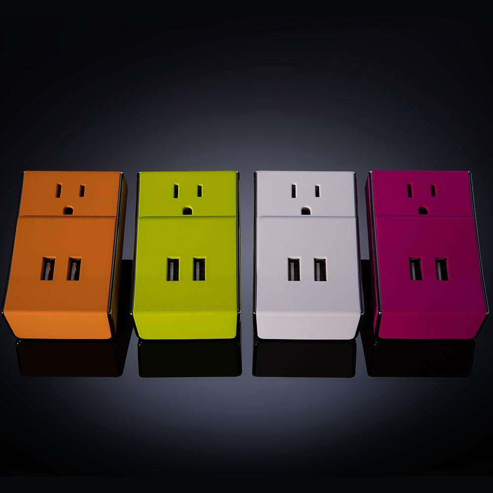 Wally Dual USB + Standard Wall Charger- Charger | Schatzii