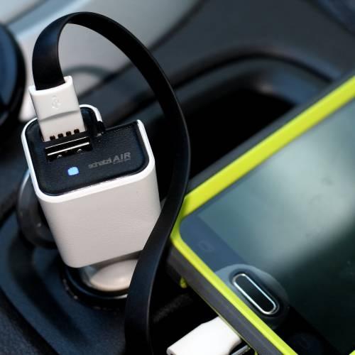 Car Air Purifier & Car Charger | Schatzii