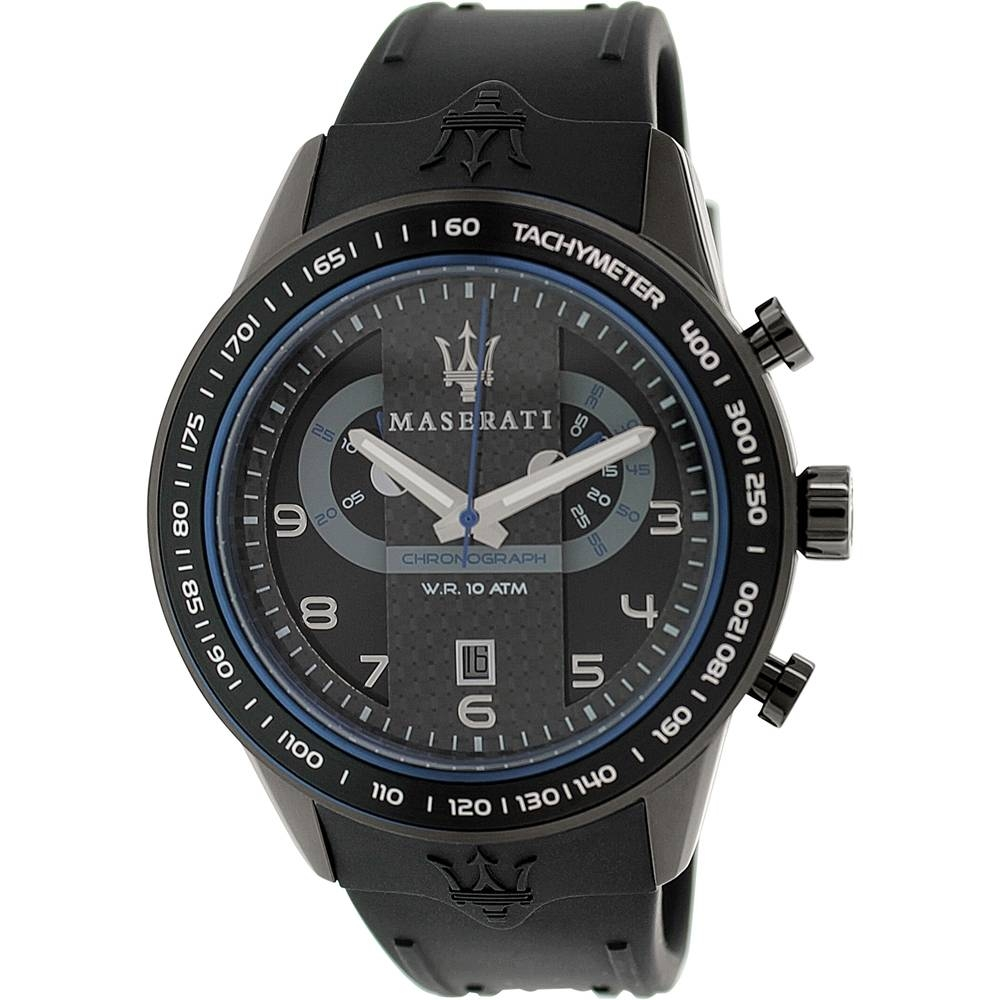 Corsa Black Rubber Analog Watch - Area Trend