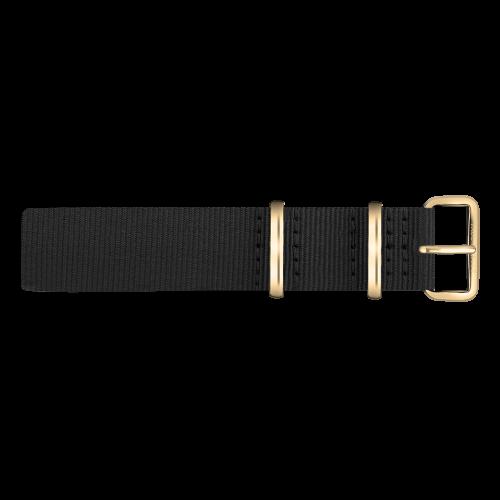 Gold Line Watch, Black - Paul Hewitt