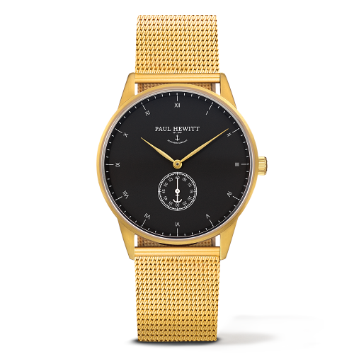 Mark I Mesh Watch, Black Sea - Paul Hewitt
